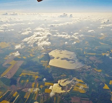 Góry z lotu ptaka